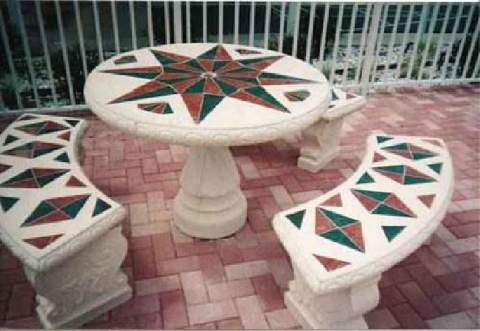 $350 Concrete Benches and Table Sets for Sale in Lakeland, Florida