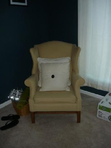 $350 Craftmaster wingback chairs (2)