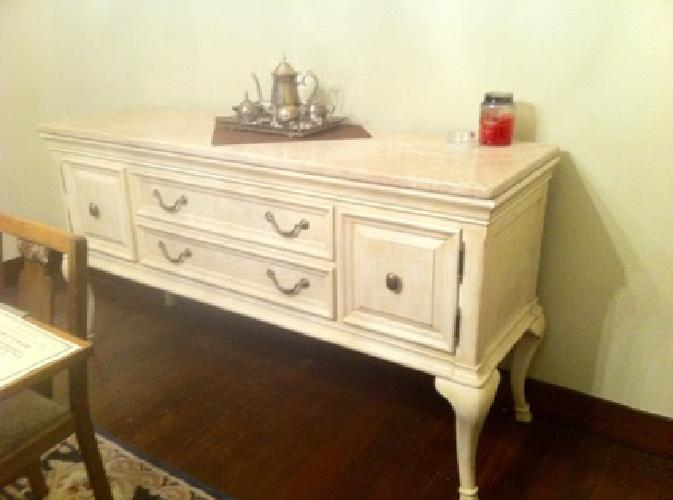 350 Elegant Buffet Table Dining Room For Sale In Dallas