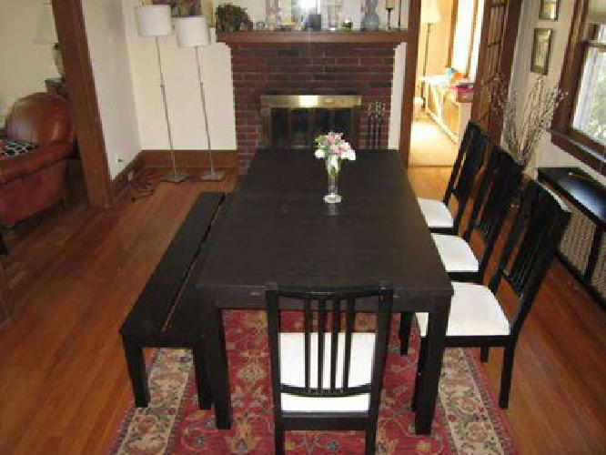 Superieur $350 IKEA Dining Table, Chairs And Bench