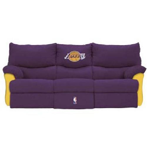 350 Obo L A Lakers Full Size Sofa For Sale In Lexington