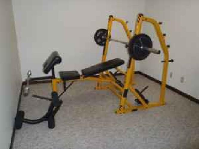 350 Olympic Size Weight Bench With Squat Rack For Sale In Lincoln Nebraska Classified