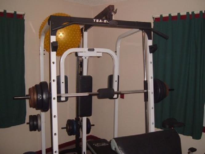 350 Tsa 2000 Smith Machine With Weights For Sale In