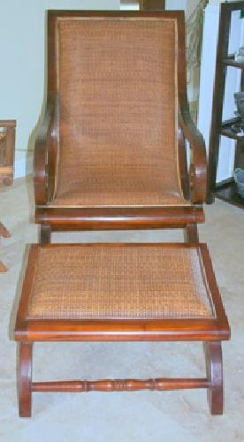 350 West Indies Plantation Chair Amp Ottoman For Sale In