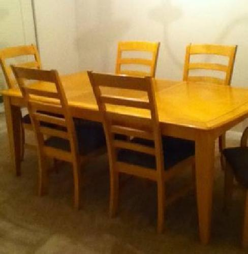 350 wood dining room table for sale in houston texas