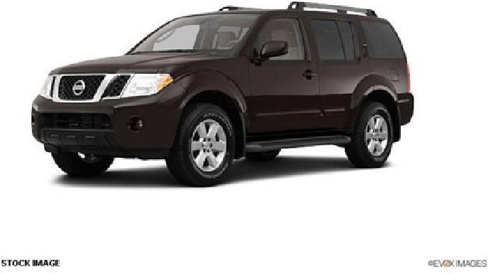 $35,665 2012 Nissan Pathfinder SV