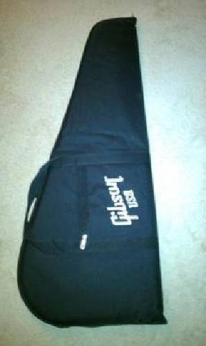 $35 Gibson USA Les Paul SG DELUXE GIG BAG Case Guitar White Padded NEW!