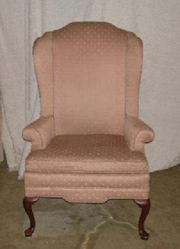 $35 HITCHCOCK WINCHESTER COLLECTION HIGH BACK CHAIR Needs to be reupholstered, $