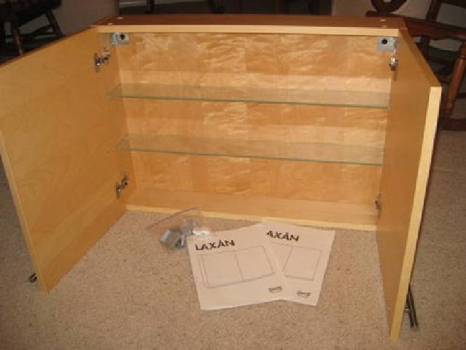 35 ikea laxan bathroom cabinet maple veneer for sale in sun prairie