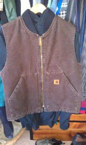 $35 OBAMA ENDORSED Carhartt Clothing (Vest, Lined) (Kennewick)