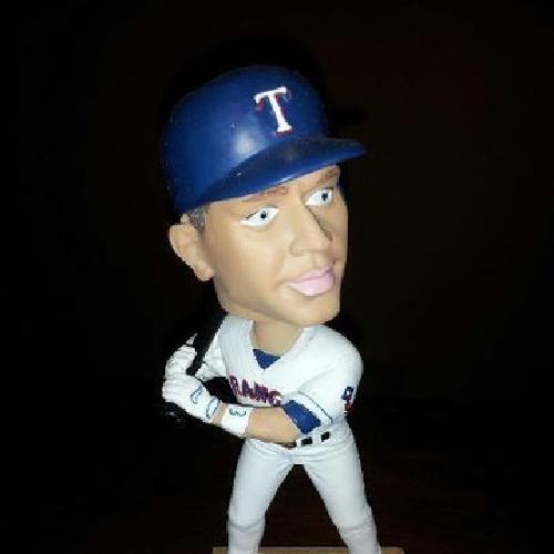 $35 OBO Texas Rangers, ALEX RODRIQUEZ: Home Plate Bobble Head