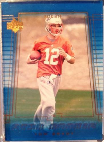 $35 OBO Tom Brady Rookie Card - 2000 UpperDeck #254