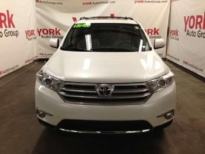 $36,400 2013 Toyota Highlander SE