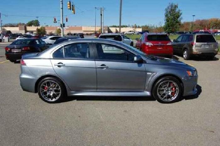 $36,903 2012 Mitsubishi Lancer Evolution MR