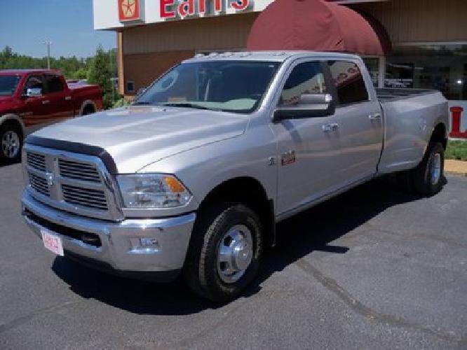 $36,995 2010 Dodge Ram 3500 SLT 4x4 - Crew Cab - Bright Silver - 41K Mi.