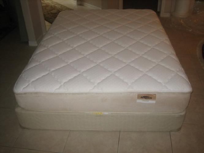 used queen mattress. $375 Airsprung Beds Ivanhoe Queen Mattress And Box-Spring Set Used