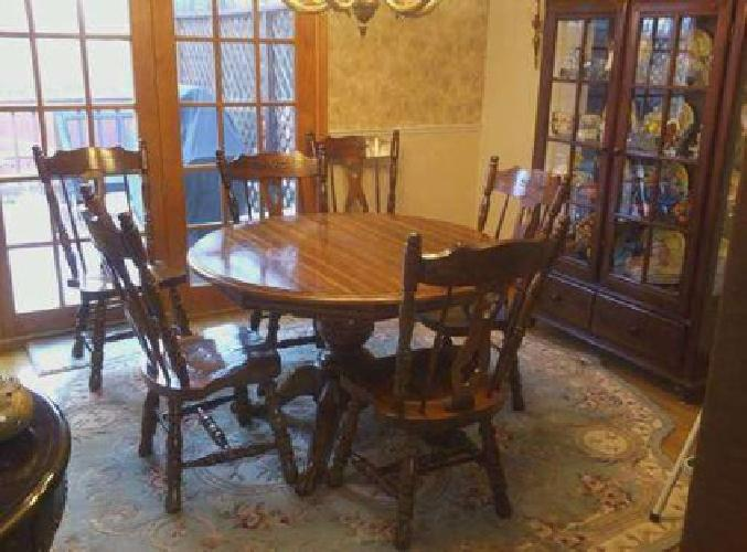 375 dining room table amp 6 chairs for sale in buffalo new