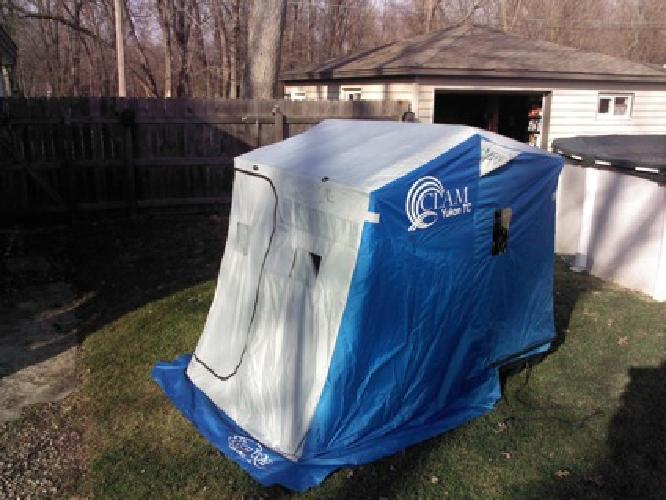 375 ice fishing shanty for sale in chicago illinois for Illinois ice fishing reports