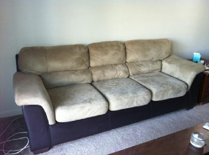 $375 Microfiber Couch & Chair Set for sale in Clearwater