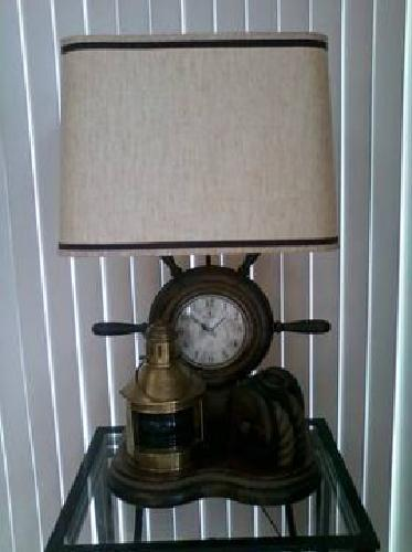375nautical lamp for sale in algonac michigan. Black Bedroom Furniture Sets. Home Design Ideas