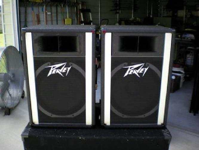 $375 Peavey PA Speakers 15'' (Scorpions) Great Condition