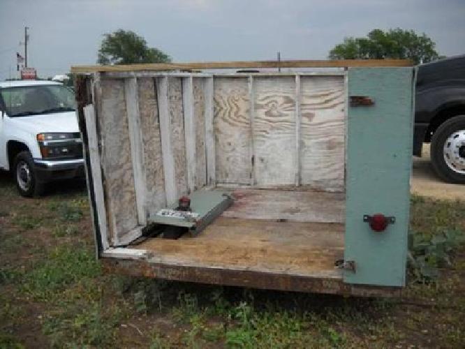 $375 Trash & Utility Trailer- 6'x8'