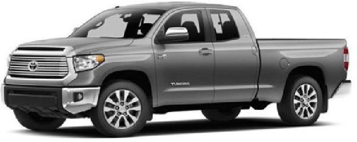 $37,130 2014 Toyota Tundra Double Cab 5.7L V8 6-Spd AT SR5
