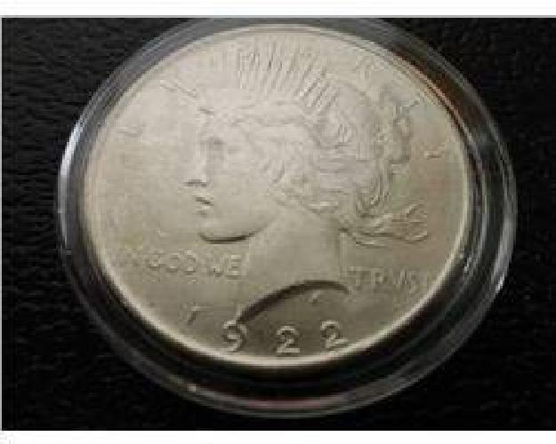 $37 1922-P Peace Dollar
