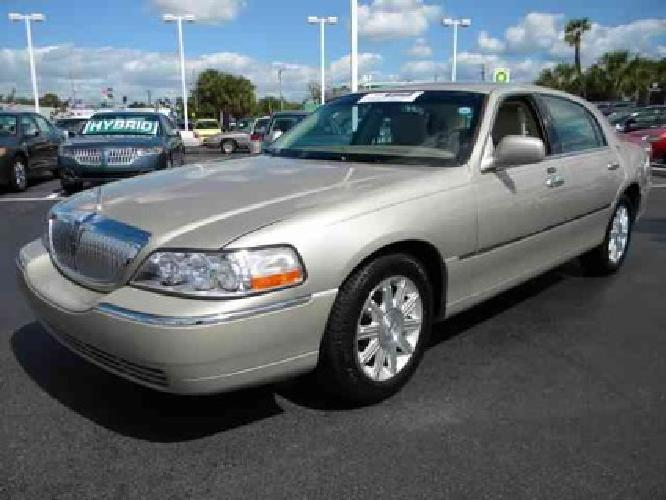 37 990 2011 lincoln town car for sale in pompano beach florida classified. Black Bedroom Furniture Sets. Home Design Ideas