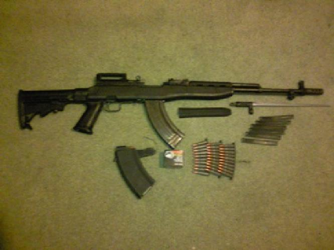 $380 SKS Rifle w/ Tapco Tactical Stock+Accessories for sale