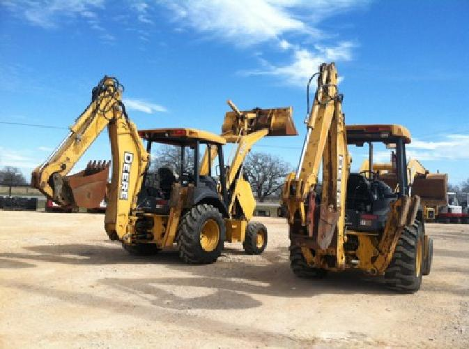 $38,500 Back Hoes Available For Sale and Rent