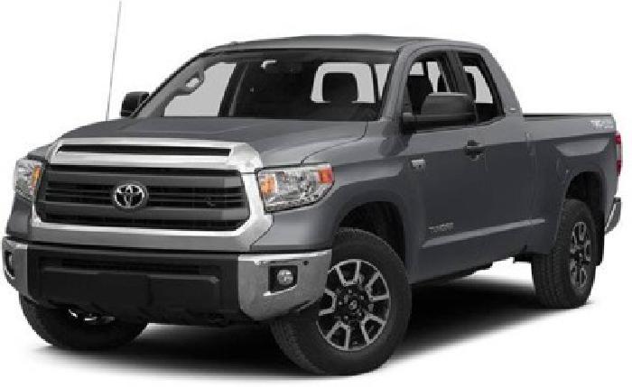 $38,805 2014 Toyota Tundra Double Cab 5.7L V8 6-Spd AT SR5