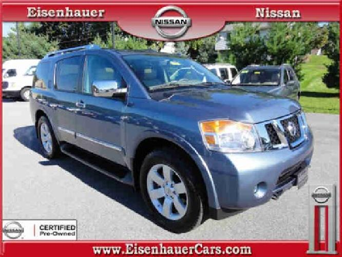 $38,990 2011 Nissan Armada SL
