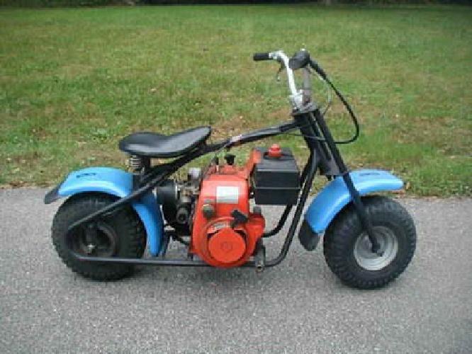 395 vintage bobber minibike