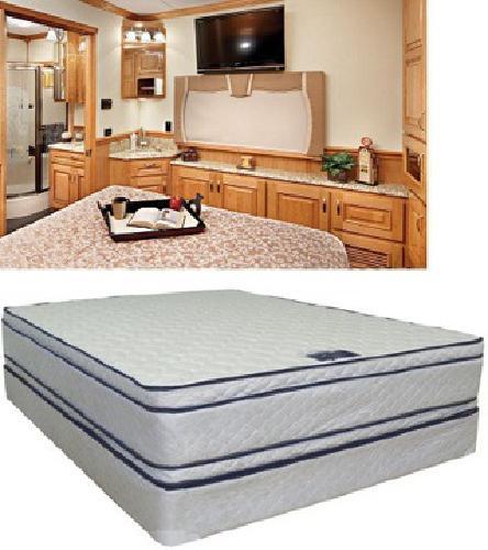 $399 short queen mattress two sided pillow top soft dreamer 60 x 74 - Free Shipping