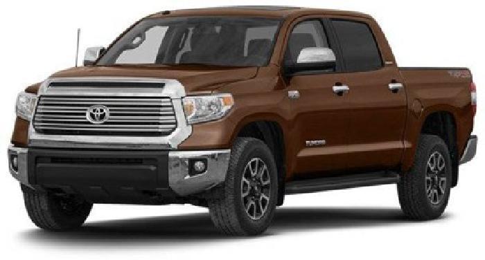 $39,490 2014 Toyota Tundra CrewMax 5.7L V8 6-Spd AT SR5
