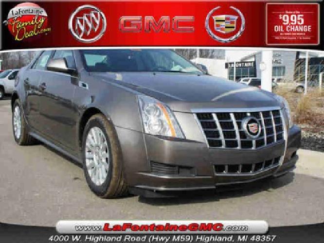 $39,990 2012 Cadillac Cts -