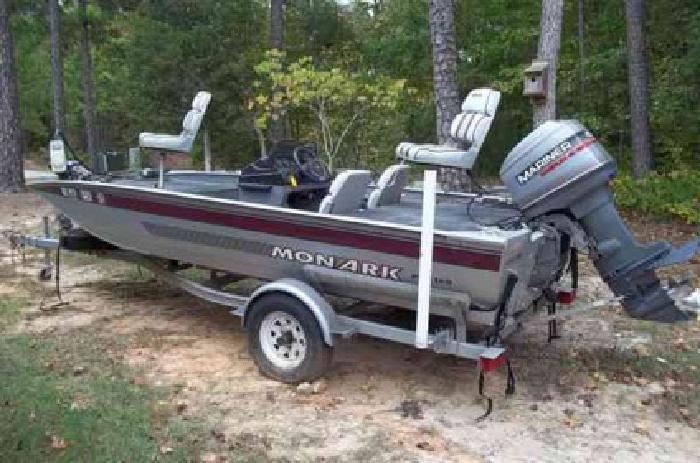 3 000 1996 monark pro 160 aluminum fishing boat for sale for Monark fishing boats