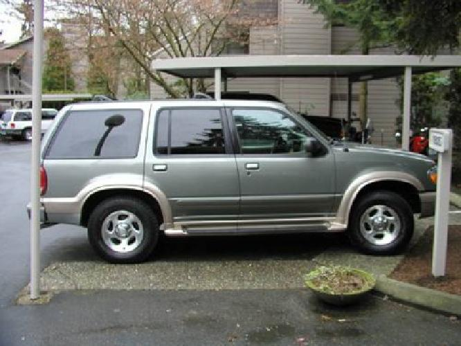 3 000 1999 ford explorer eddie bauer edition for sale in seattle washington classified. Black Bedroom Furniture Sets. Home Design Ideas