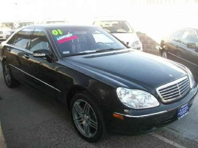3 000 2001 Mercedes S500 Black Amp Black For Sale In