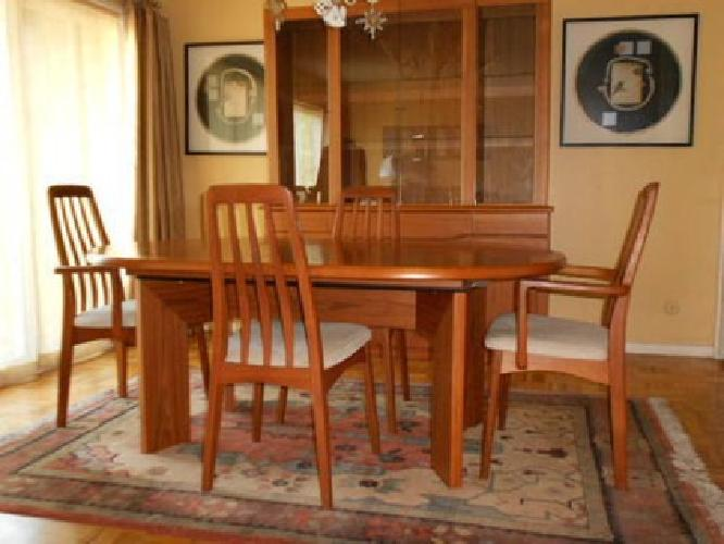 3 000 Teak Dining Room Set Skovby Danish Mid Century