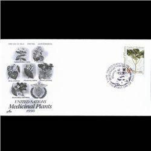 $3 1990 UN First Day Postal Cover (STM-004004)