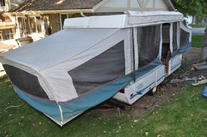 3 200 1995 Coleman Stony Creek Pop Up Camper For Sale In