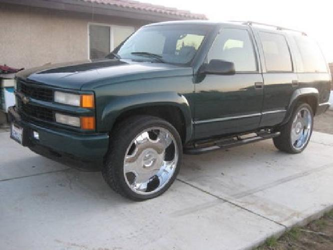3 200 2000 chevy tahoe for sale in hesperia california classified. Black Bedroom Furniture Sets. Home Design Ideas
