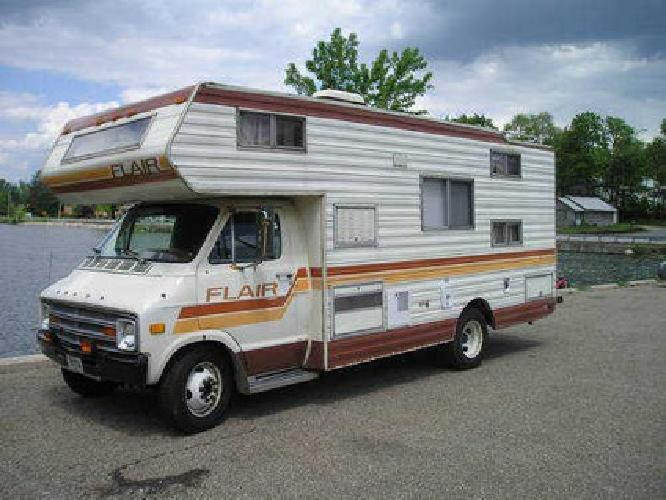 3 300 1979 Dodge Flair By Fleetwood Motor Home Rv Camper