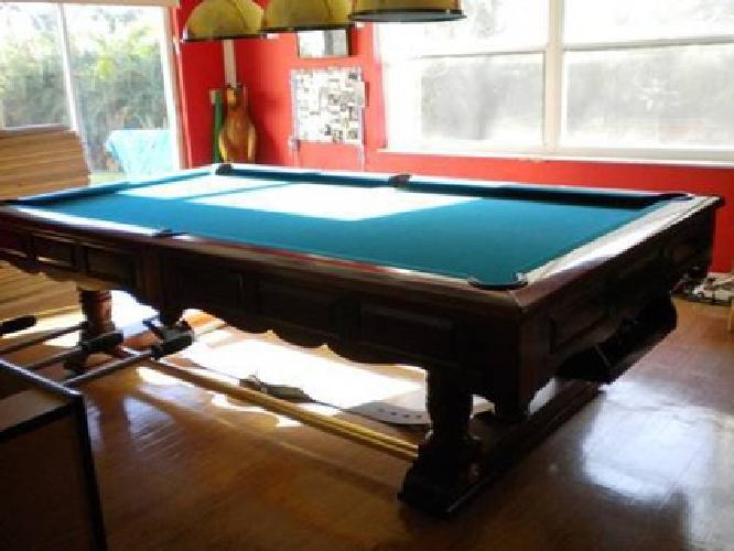 3 300 pool table brunswick prestige for sale in fort for Prestige homes new brunswick