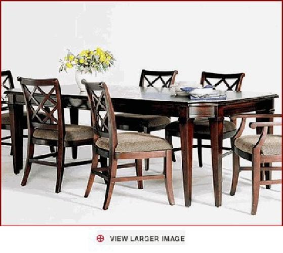 $3,322 dining set (table, hutch & buffet, chairs) lane-gramercy