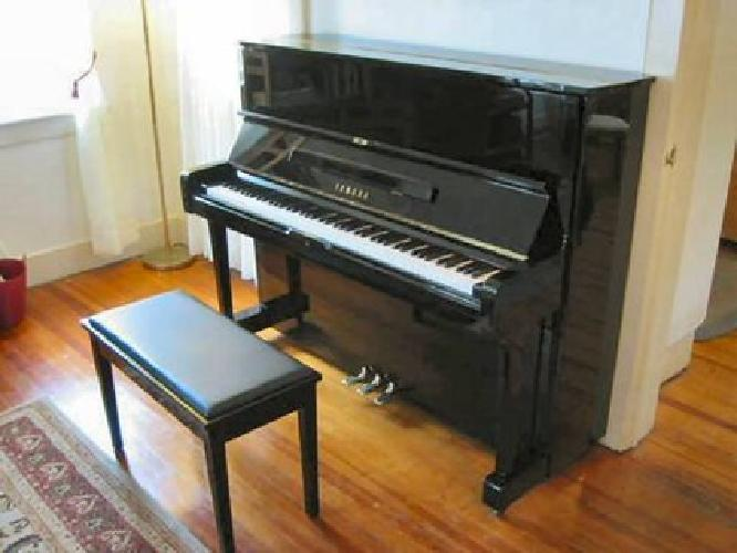 $3,400 Yamaha U1 upright piano