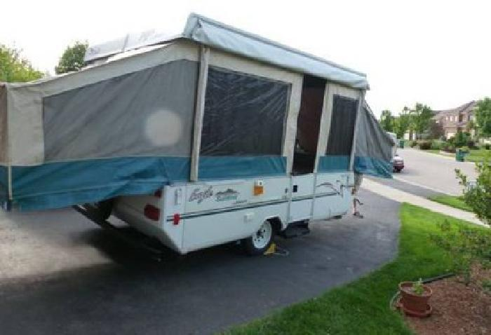 $3 495 2002 Jayco Eagle Pop Up Tent Trailer e Owner