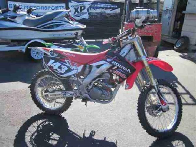 $3,499 2009 Honda CRF250 -